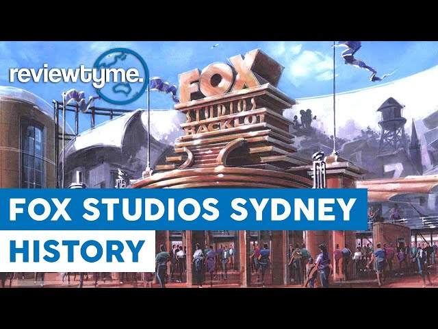 Sydney's Abandoned Movie Studio Theme Park - Fox Studios Australia Backlot | HistoryTyme