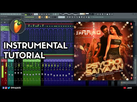 Psycho Saiyaan Instrumental Cover & Music Production Tutorial thumbnail