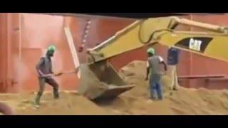 Подборка приколов и неудач с рабочими на стройке - приколы и неудачи на работе