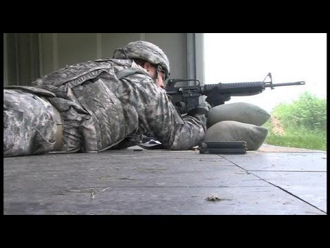 U.S. Army Africa – M16 Rifle Marksmanship Training