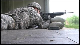 U.S. Army Africa, M16 Rifle Marksmanship Training