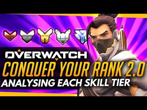 Overwatch | Conquer Your Rank 2.0 - Hero Usage In Each Skill Tier