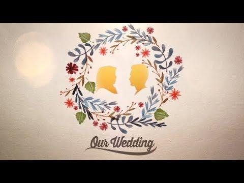 Video Animasi Pernikahan Rustic Flower  YouTube