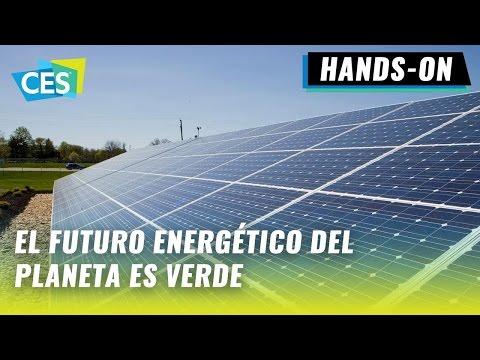 Celdas fotovoltaicas de SolarCity con baterías Tesla y Panasonic en #CES2017