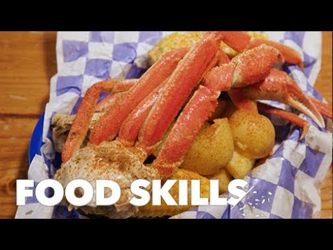 How to Eat a Crab Like a Pro   Food Skills