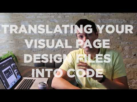 Translating your Design Files into HTML / CSS - Web Design Tutorial