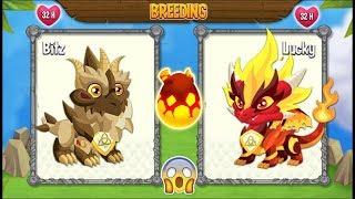 NEW BREEDING: Pure Terra Dragon & Pure Flame Dragon [EXCLUSIVE BREE...