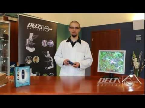Mikroskop cyfrowy usb delta optical smart 2mp youtube
