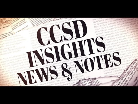 CCSD Insights, News & Notes - Early Learning Opportunities