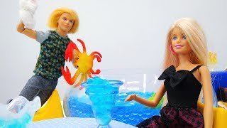 Мультик с куклой Барби. Свидание с Кеном. Видео для девочек