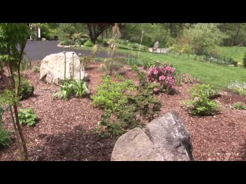 How To Design A Flower Bed   YouTube