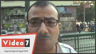 بالفيديو.. مواطن لمحافظ الجيزة: «نعانى انقطاع المياه فى كفر طهرمس»