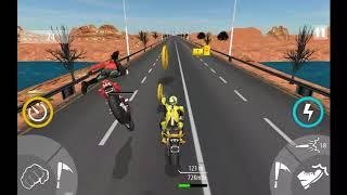 Bike Attack Race Highway Tricky Stunt Rider #1 Android Gameplay screenshot 3