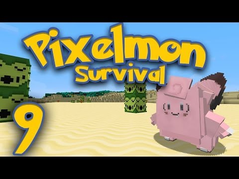 Pixelmon Survival [Part 9] - Pokemon Ni~ights ♪