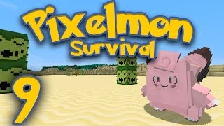 pixelmon survival part 9 pokemon ni ights