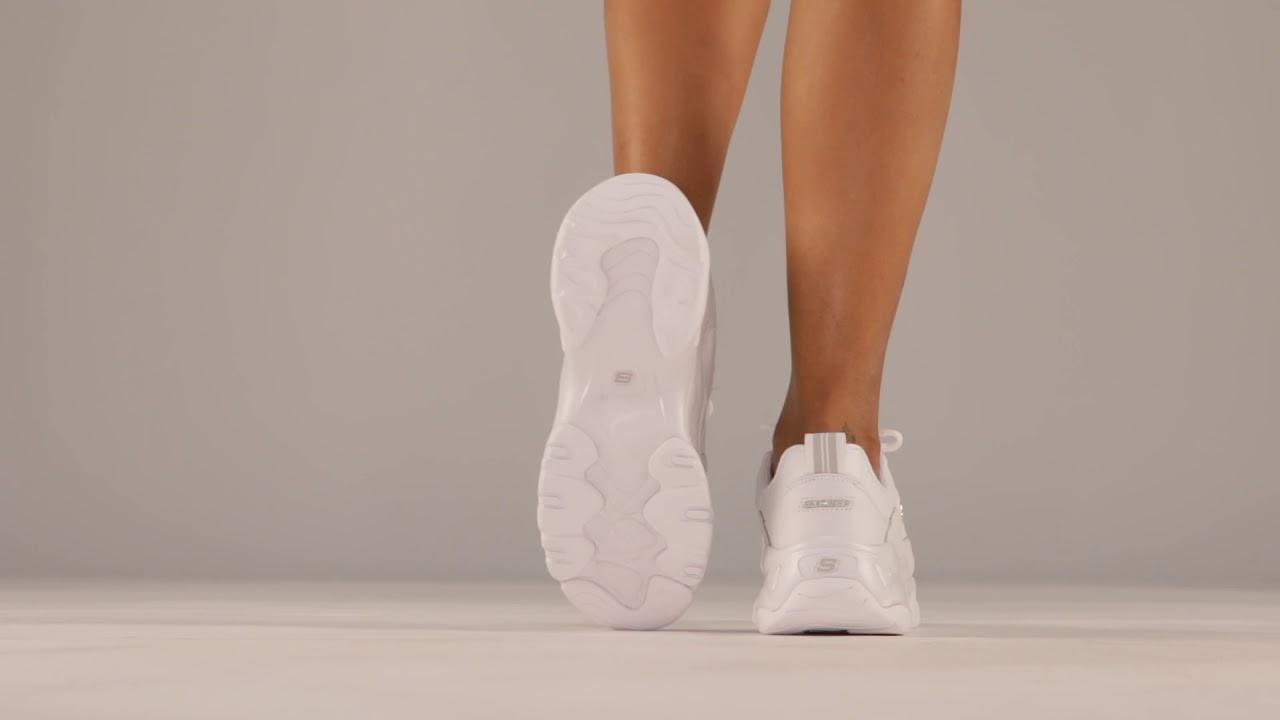 SKECHERS D'LITES 3.0 13376 WHTSneaker CAGE YouTube uwOU3