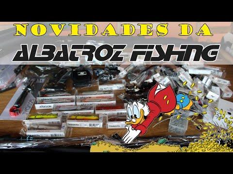 Unboxing - Material de Pesca - Albatroz Fishing