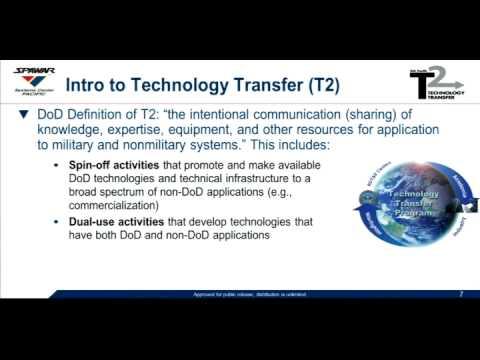 Business Start-Up Series for Veterans & Entrepreneurs: Tech Transfer & Licensing