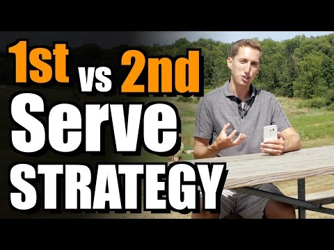 1st vs. 2nd Serve Strategy - Ask Ian #50