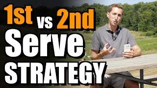 1st vs. 2nd Serve Strategy - Ask Ian #50