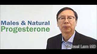Males & Natural Progesterone