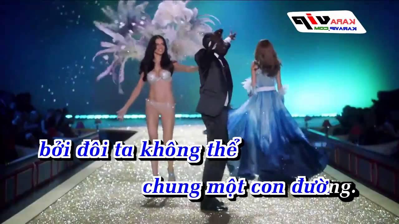 [Karaoke] Chia Đôi Con Đường - Cao Trung Remix Full