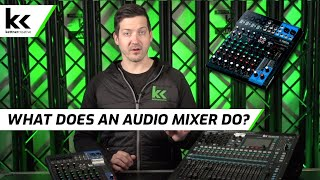 What Does an Audio Mixer Do? |…