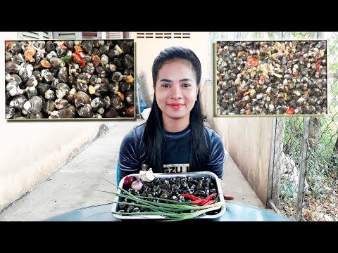Sun Dried Clams Cooking Recipe - Anuchnimi Yummy Cooking Skill