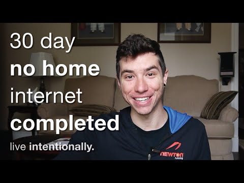 My Results - 30 Days Of No Home Internet Completed
