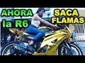 LLEVE MI MOTO HANGAR1 Y AHORA SACA FLAMAS - BLITZ RIDER