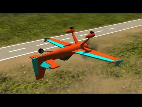 Stunt plane game