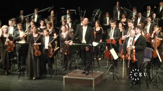 A concert of works by Liszt and Mahler in honor of CEU