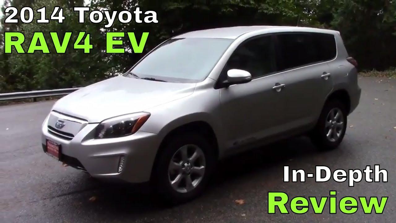 2014 Toyota RAV4 EV   Review