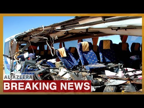 🇪🇬 Explosion hits tourist bus near Egypt's Giza pyramids | Al Jazeera English