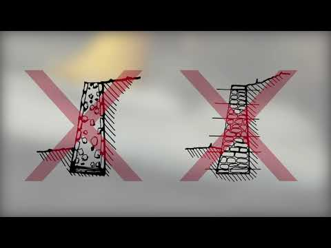 Maçonnerie Chainée 11 De 11: Murs De Soutènement