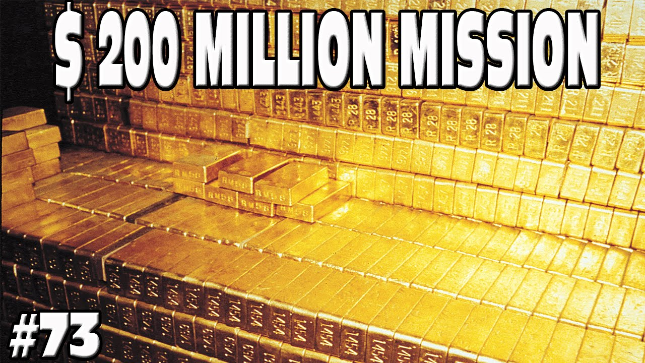 How To Make A Million Dollars >> GTA 5 - $200 MILLION DOLLAR MISSION - NATIONAL TREASURE!! #73 Grand Theft Auto 5 Funny Moments ...