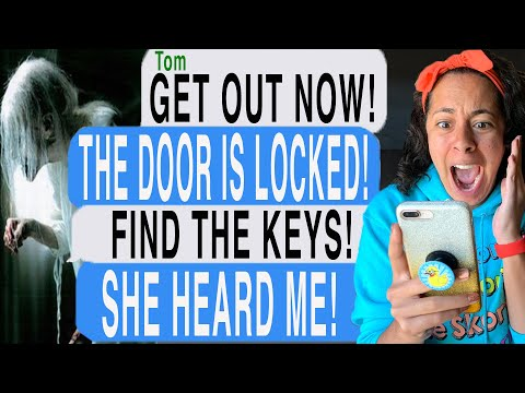 TRAPPED IN Granny Horror Game In REAL LIFE!! *WITH THREE GRANNYS* (Scary Text Message Story)