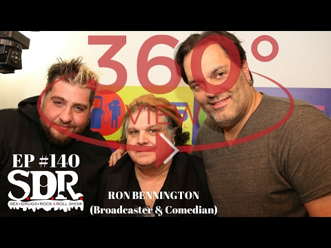 Ron Bennington comes into The SDR Show to discuss his radio career!