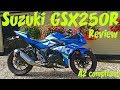 Suzuki GSX250R 2017 Review! A2 compliant bike!