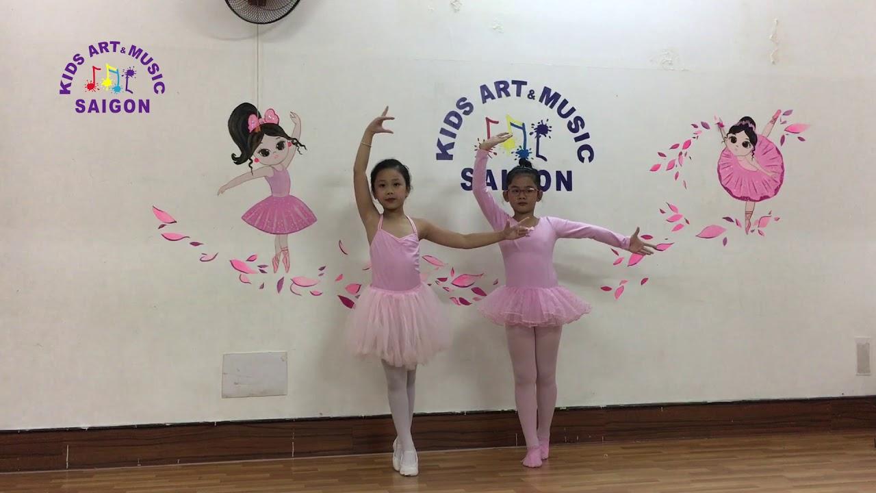 Lớp Múa Ballet cho Bé tại tpHCM chiều T7 CN – Let it go