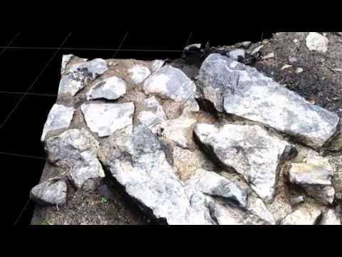 Animation of Archaeological Diggings from close range photogrammetry