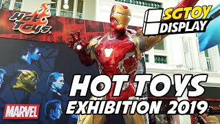 Hot Toys Exhibition 2019 at Bugis Junction Singapore