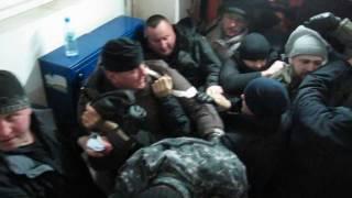 ВЗАЄМОДОПОМОГА. Выселение на Басейной в Киеве 29.11.2016 ч.1(29.11.2016г. ГО