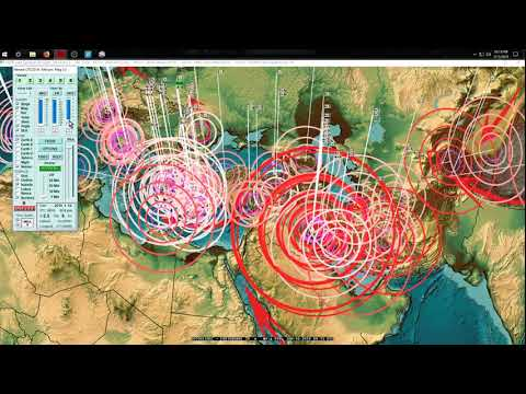1/15/2018 -- Multiple Volcanic eruputions simultaneously + seismic unrest spreading