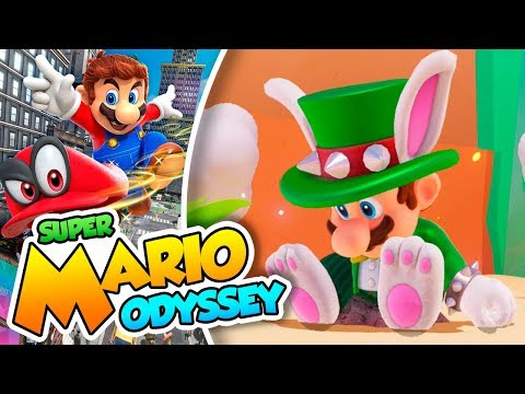 ¡Traje de Topper y nuevas pistas! - #66 - Super Mario Odyssey en Español (Switch) DSimphony