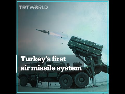 Turkey introduces its first domestically produced air missile system