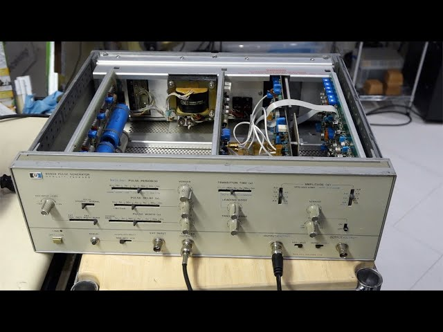 HP 8082A Pulse Generator Repair Part 1: Fast Pulse Synthesis, the Analog Way
