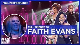 Faith Evans is Honored by V. Bozeman, Demetria McKinney and Syleena Johnson     Black Music Honors