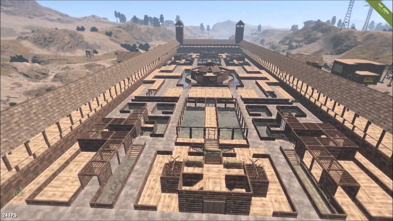 The Biggest/largest Vanilla community arena - rust county council ...