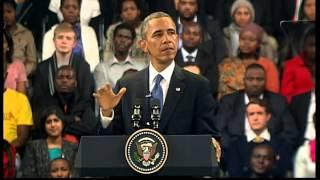 Barack Obama address at Soweto university